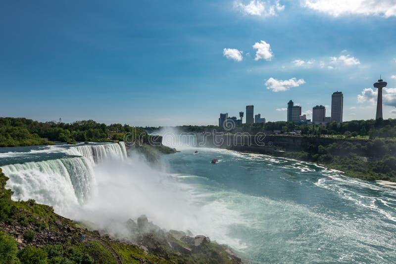 American Side Of Niagara Falls Editorial Stock Image Image