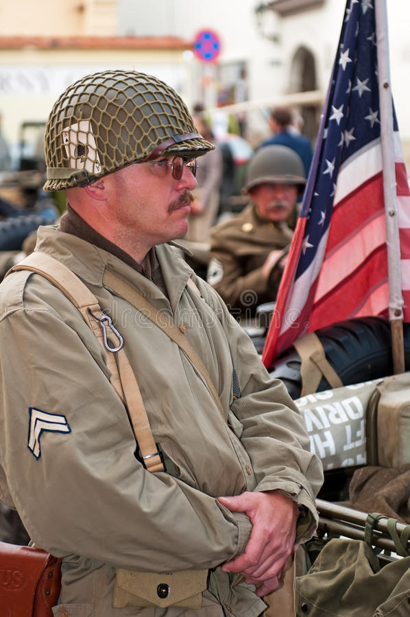 American Soldier royalty free stock photography
