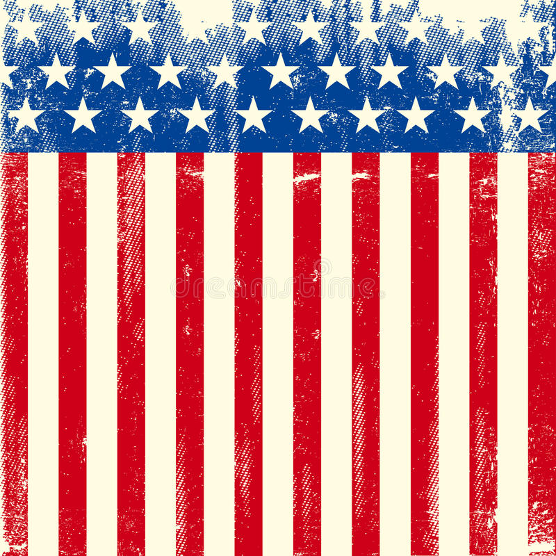 American square dirty flag stock photos