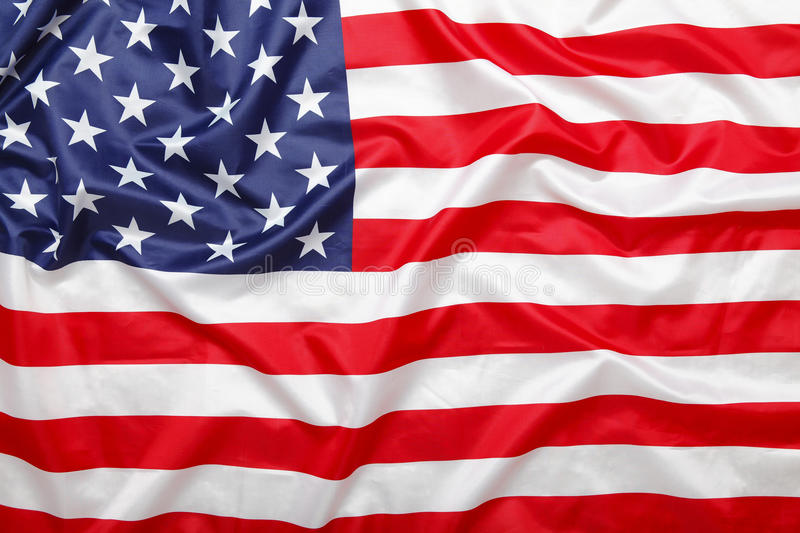 American stars and stripes flag background. Stars and stripes, American US USA flag background royalty free stock photos