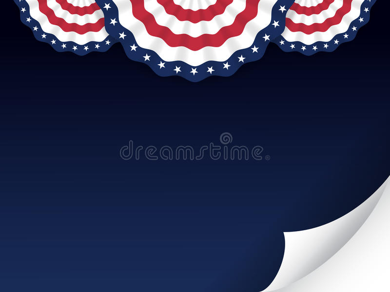 American style background vector illustration