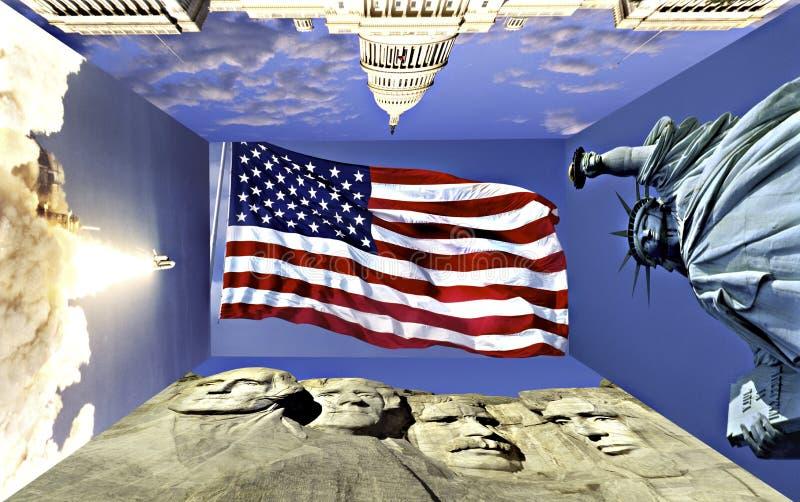American Symbols Editorial Stock Photo