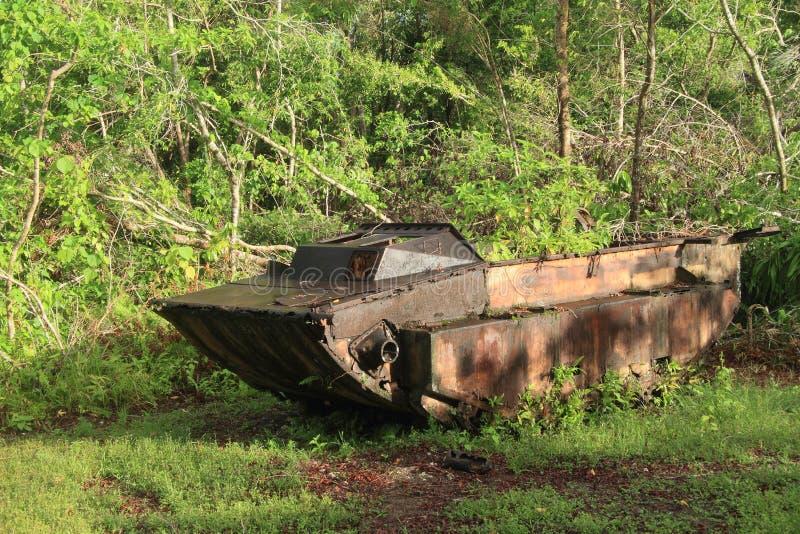 Download US tank from WWII stock image. Image of beliau, palau - 29959775