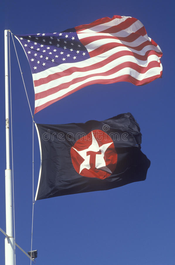 Download American and Texaco Flags editorial image. Image of celebration - 26893175