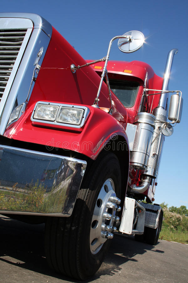 Download American Truck stock image. Image of automobile, freight - 10728769