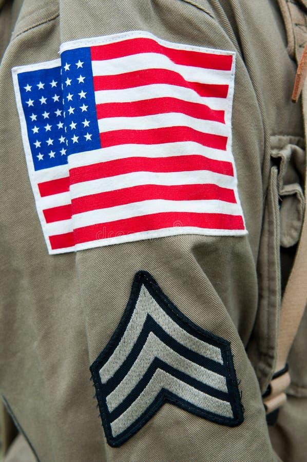 American Uniform stock images