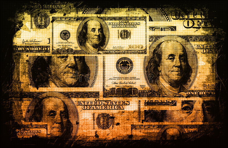 Download American US Dollars Currency Abstract Stock Illustration - Image: 7656947
