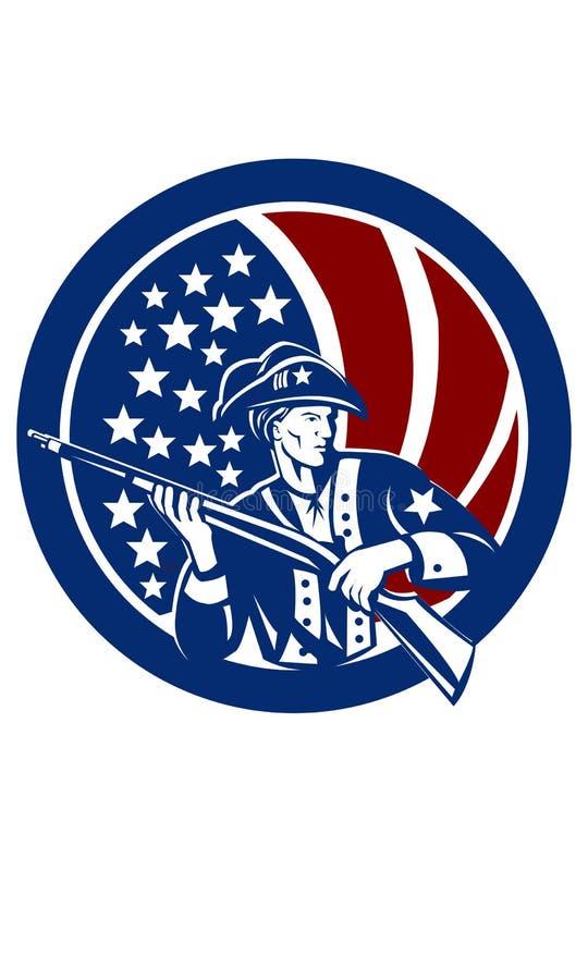 American Vector ClipArt - American Patriot , Veteran royalty free stock photos