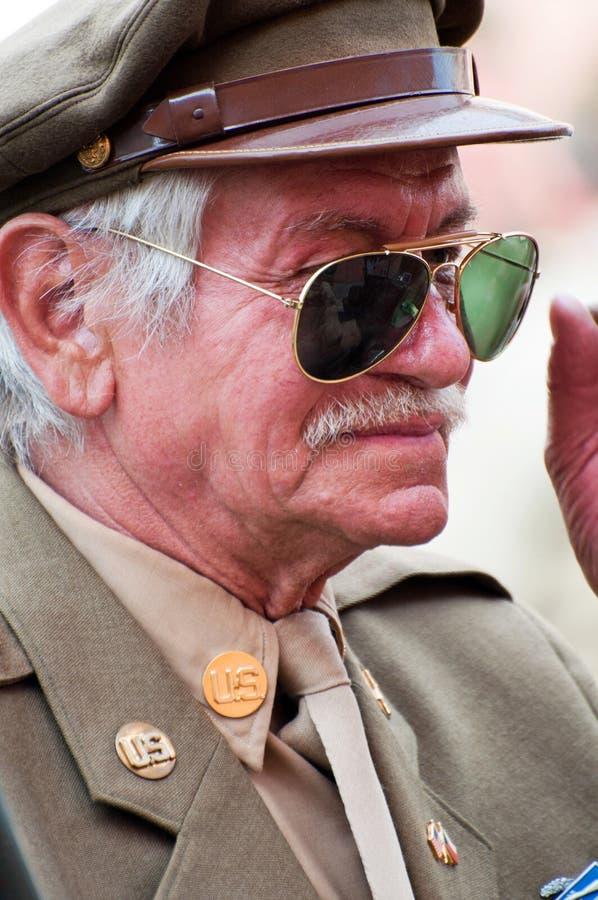 American Veteran royalty free stock photos