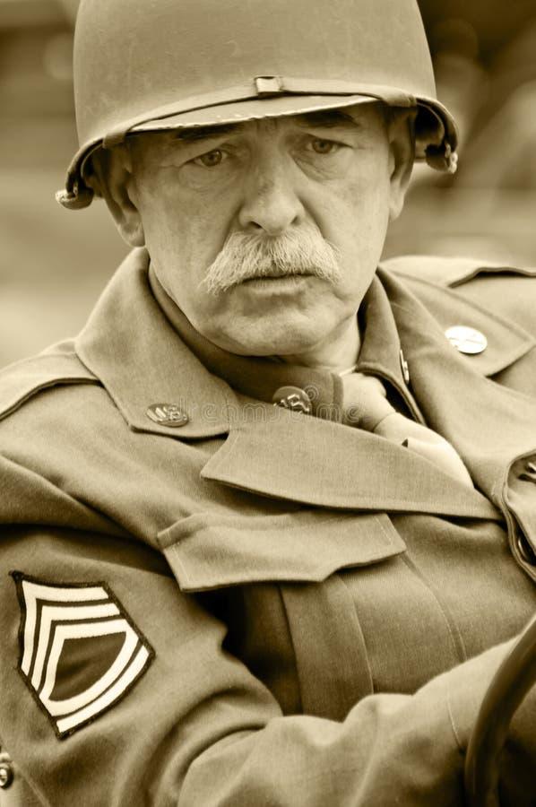 American Veteran royalty free stock photo