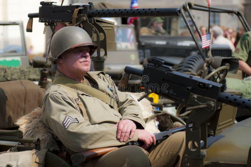 American Veteran stock photography