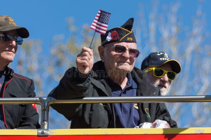 American veteran royalty free stock images