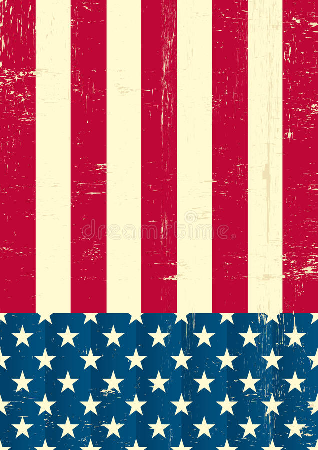 Download American vintage flag stock photo. Image of july, culture - 25432706