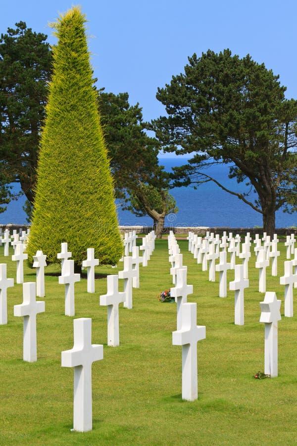 Free American War Cemetery Stock Photo - 21633760