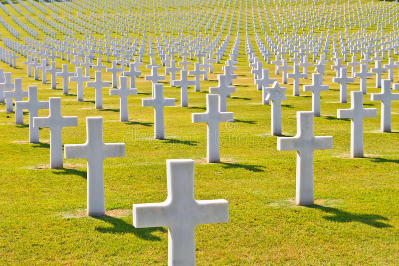 Download American War Cemetery stock photo. Image of dead, italy - 24847290