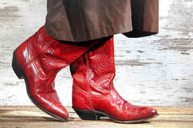 Download American West Rodeo Cowgirl Boots Two Step Dancing Stock Photo - Image: 32975520