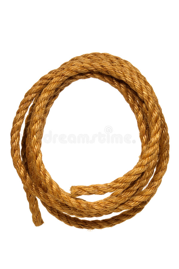 American West Rodeo Ranching Sisal Rope stock photos