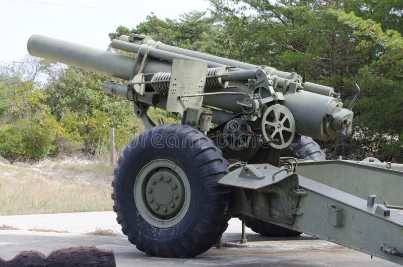 American World War Two Gun stock images