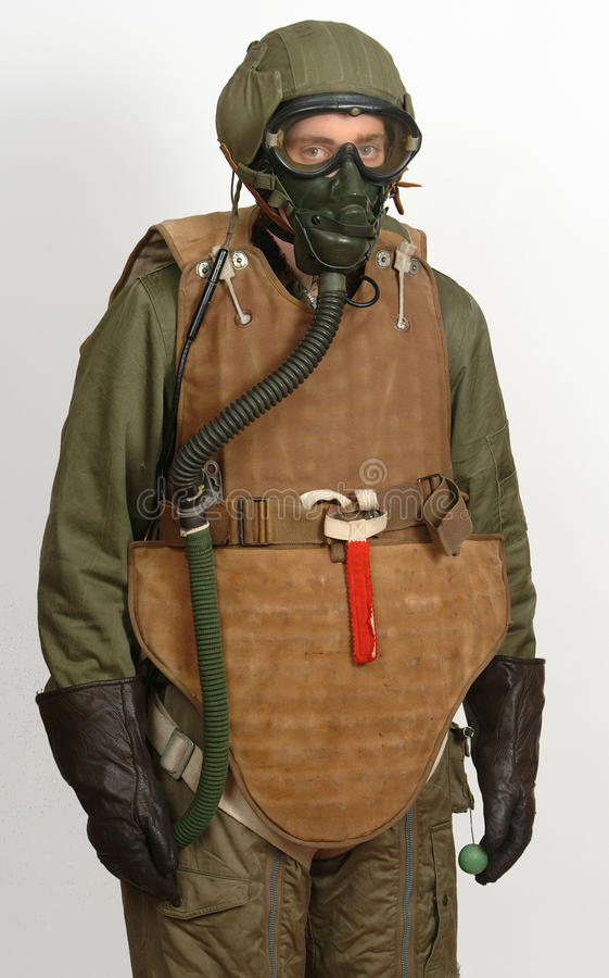 American WW11 aircrew body armor stock image