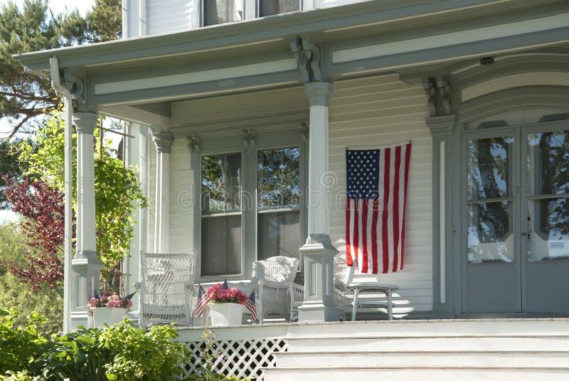 americana domowy ganeczek zdjęcia royalty free