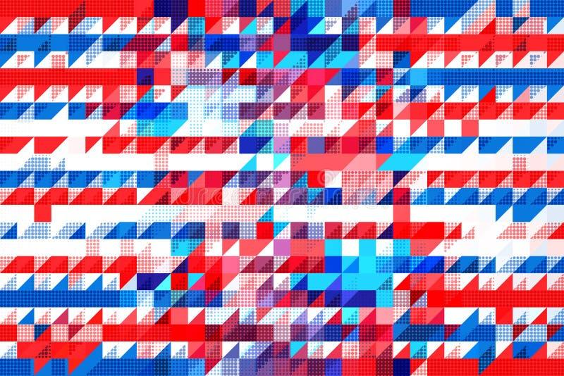 Americana patroon vector illustratie