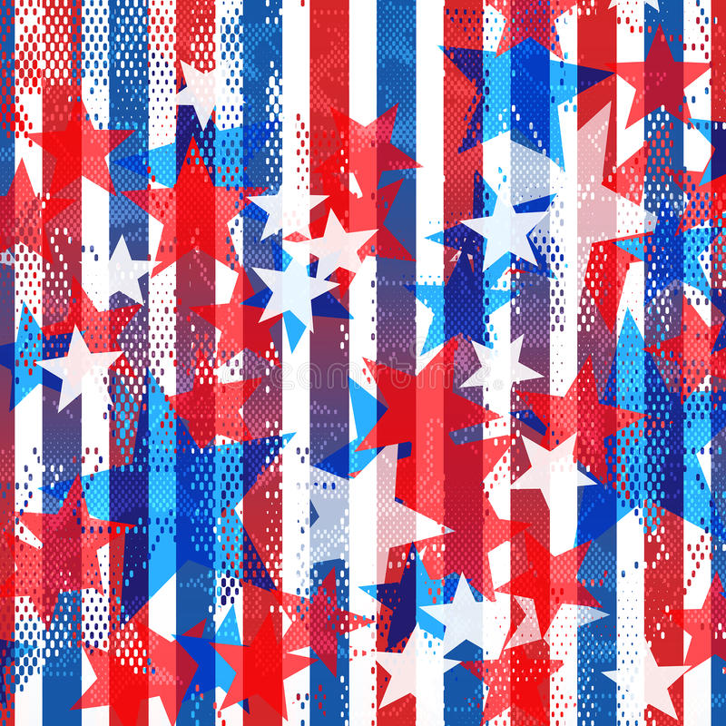 Americana pattern royalty free stock images