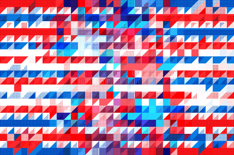 Americana pattern stock images