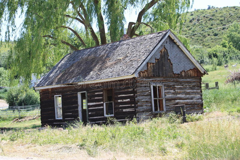 Americana-Utah Geschichte-Americana-einzigartige West-USA lizenzfreies stockfoto