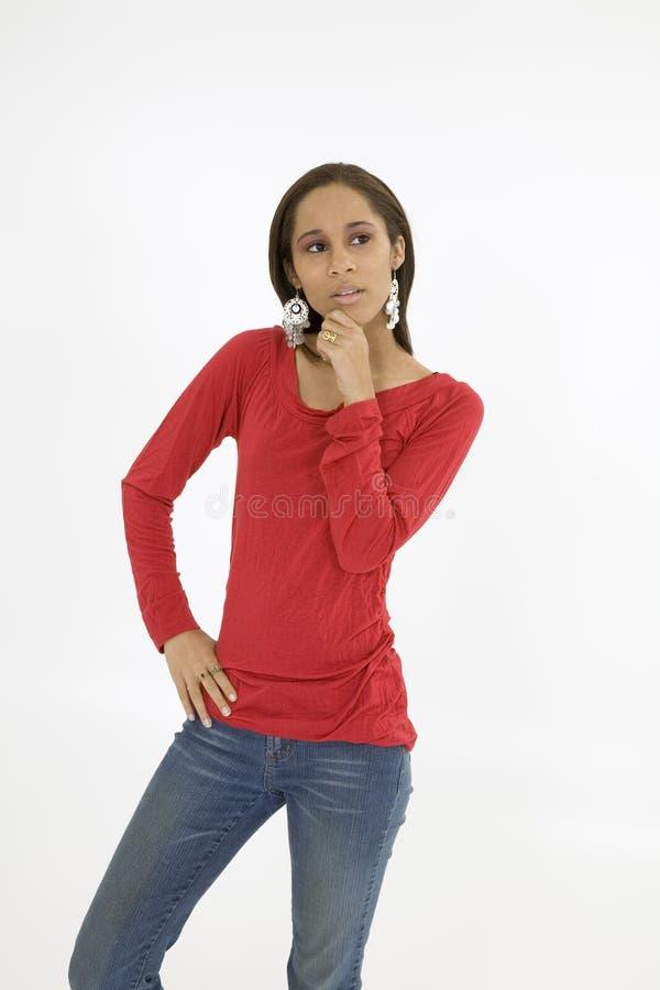 Americano africano imagens de stock