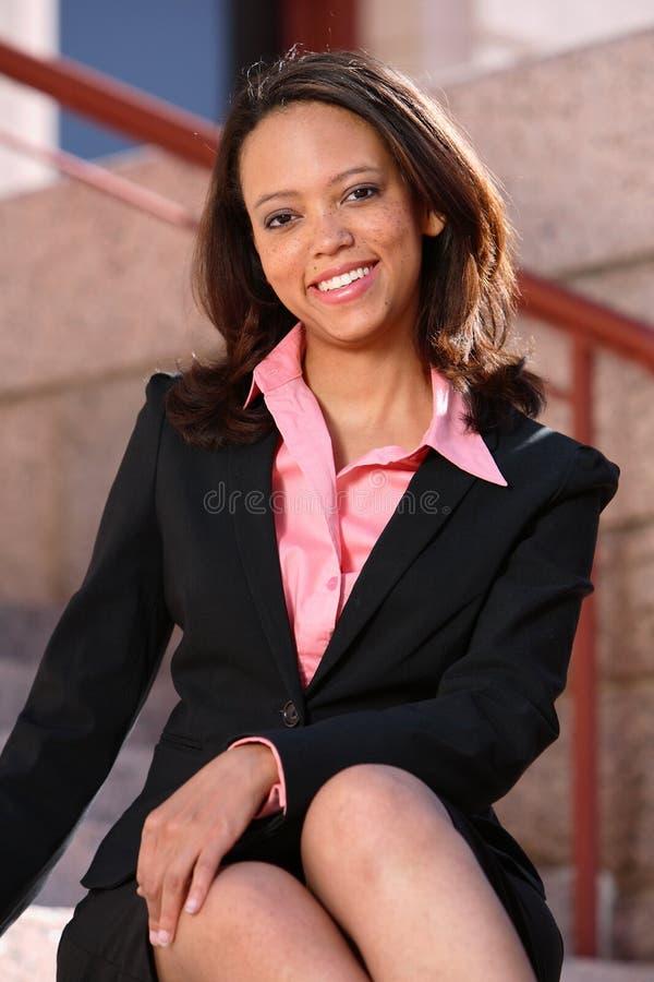 Americano africano Beaty imagens de stock