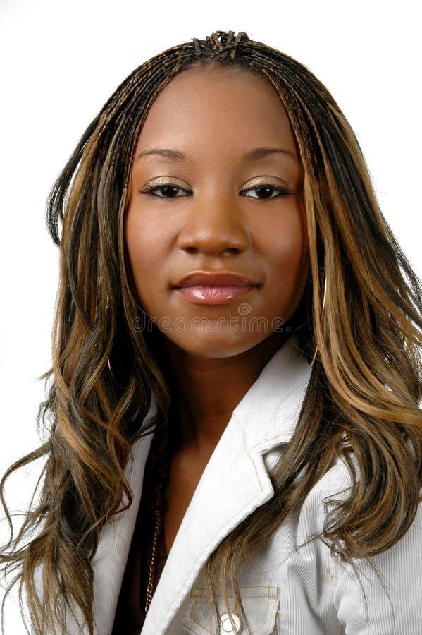 Americano africano novo imagens de stock royalty free