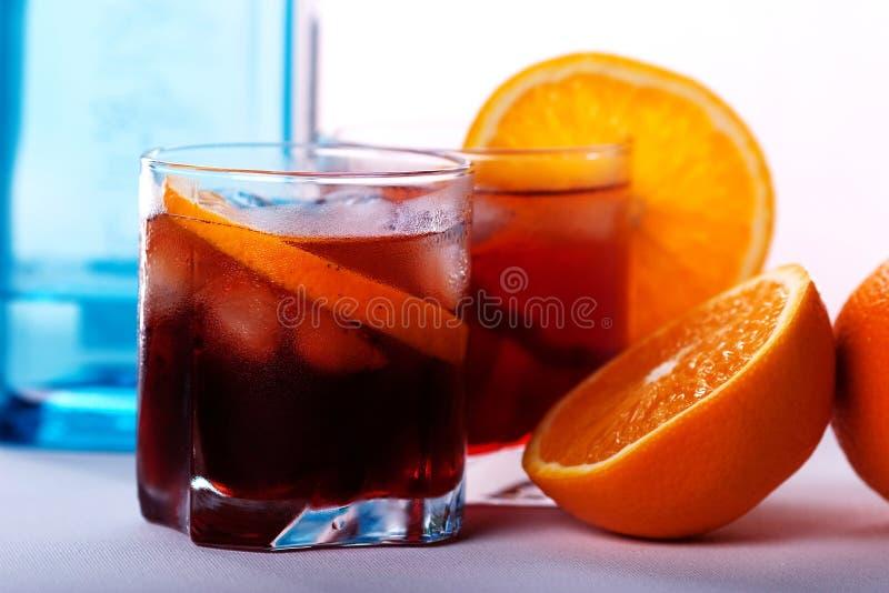 Download Americano & Negroni Cocktail Stock Image - Image: 11274889
