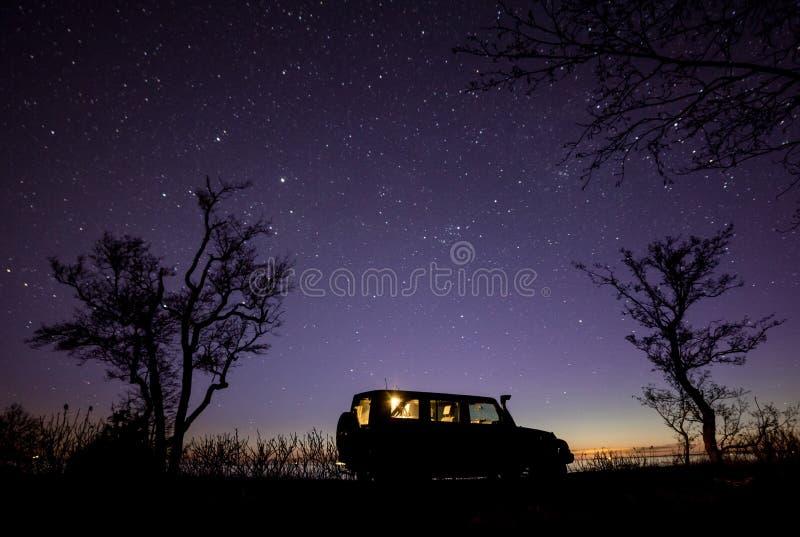 Americano SUV imagen de archivo libre de regalías