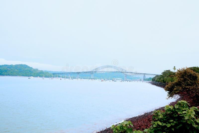 americas de laspanama puente royaltyfri foto