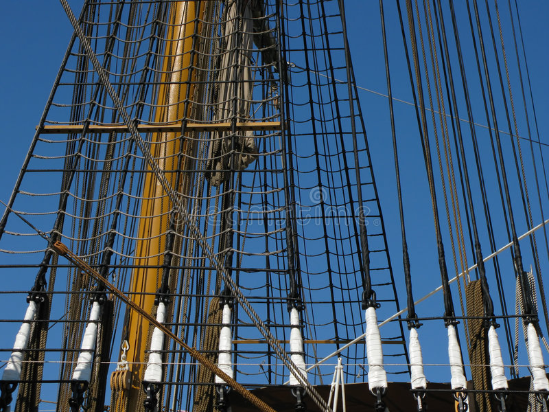 Amerigo Vespucci sheets royalty free stock photography