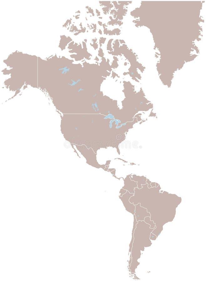 Amerika vektor abbildung