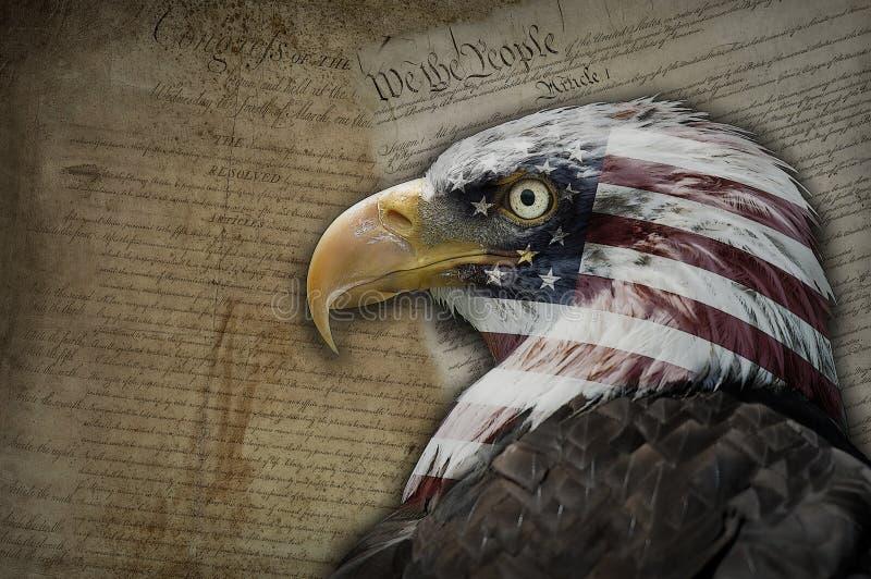 Amerika, een droom van vrijheid. royalty-vrije stock afbeeldingen