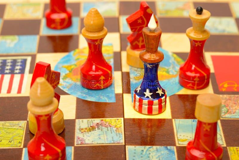 Amerika omringde royalty-vrije stock foto