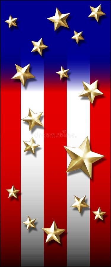 Amerika som jag älskar stock illustrationer