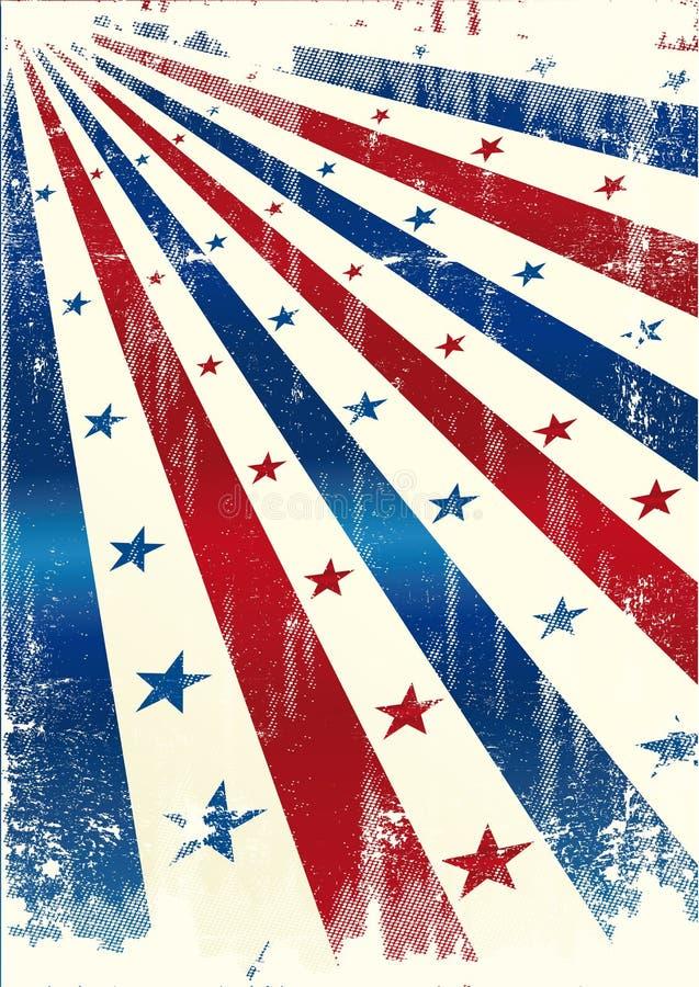 Amerika stjärna vektor illustrationer