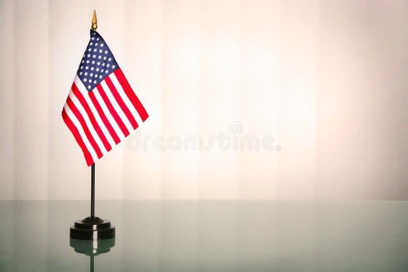 Amerikaans bureau royalty-vrije stock afbeelding