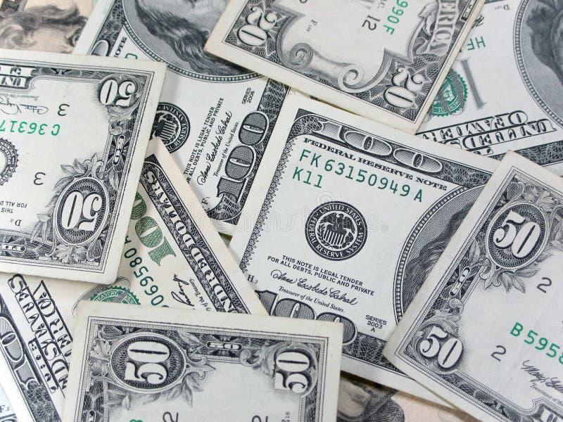 Amerikaans geld royalty-vrije stock fotografie