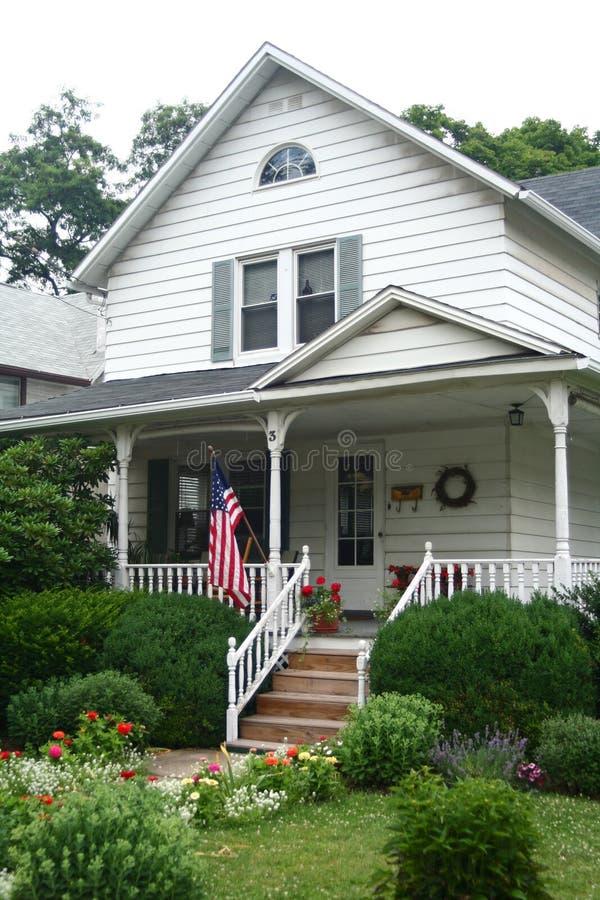 Amerikaans Huis stock foto