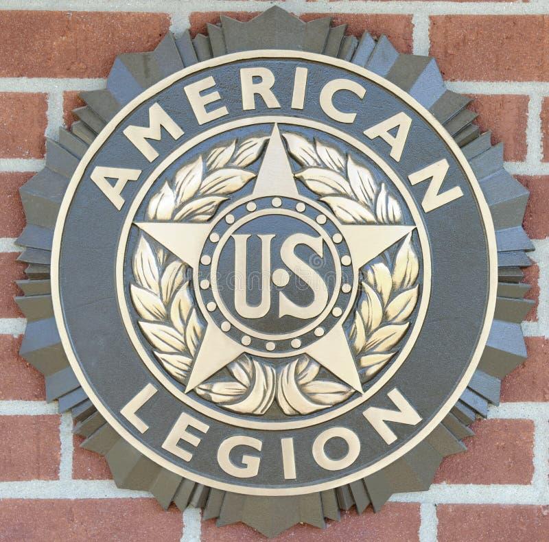 Amerikaans Legioen van het Embleem van Verenigde Staten stock foto's