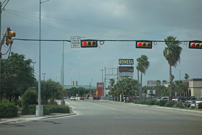 Amerikaans Mexicaans grenslandschap stock afbeeldingen