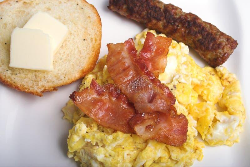 Amerikaans ontbijt royalty-vrije stock fotografie