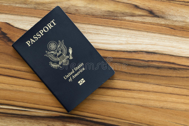 Amerikaans Paspoort stock afbeeldingen
