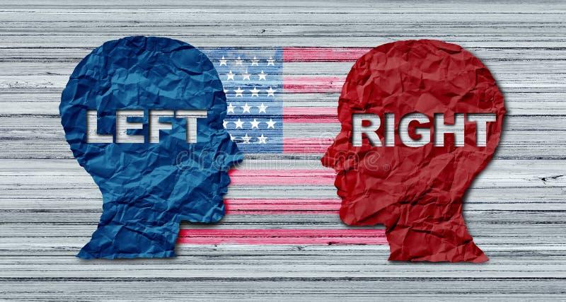Amerikaans Verkiezingsconcept royalty-vrije illustratie