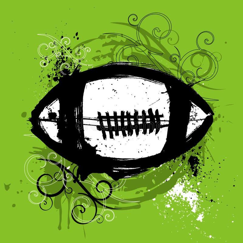 Amerikaans voetbalontwerp vector illustratie