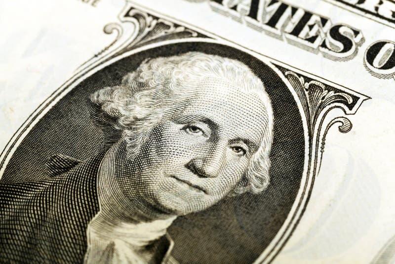 Amerikaanse dollar Close-up royalty-vrije stock foto's